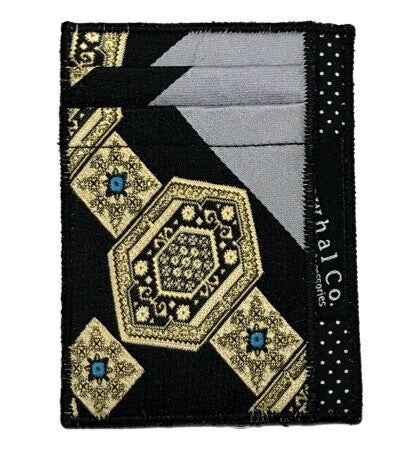 Gilded Crown - Tie Slim Wallet :: Narwhal Company