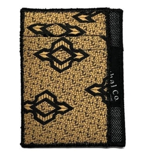 Golden Eye - Tie Slim Wallet :: Narwhal Company