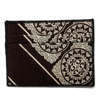 Henna - Tie Rack Wallet :: Narwhal Company