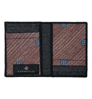 Hidden Step - Tie Fold Wallet :: Narwhal Company