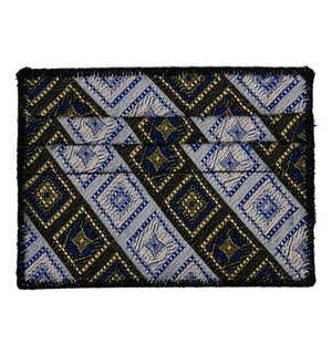 India Tile - Tie Rack Wallet :: Narwhal Company
