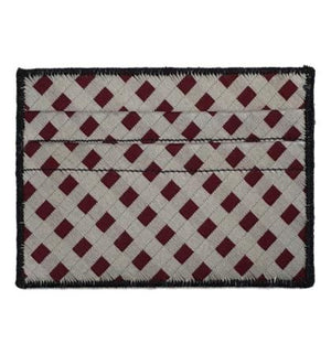 Lattice - Tie Rack Wallet :: Narwhal Company