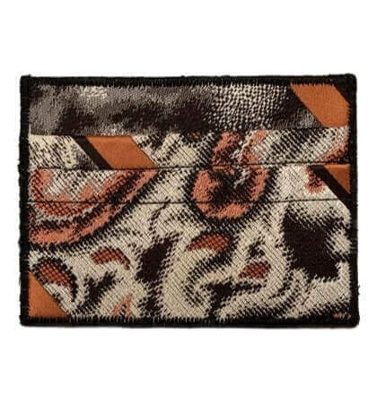 Leopard Fur - Tie Rack Wallet :: Narwhal Company