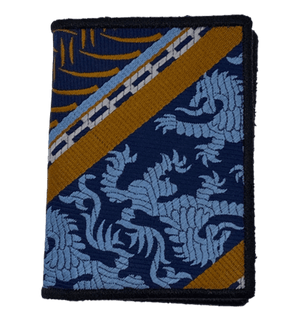Lions Crest - Tie Fold Wallet :: Narwhal Company