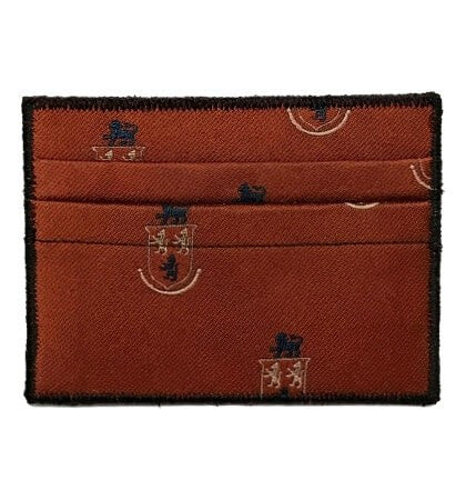 Lion's Crest - Tie Rack Wallet :: Narwhal Company