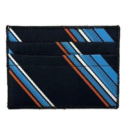 Living Color - Tie Rack Wallet :: Narwhal Company