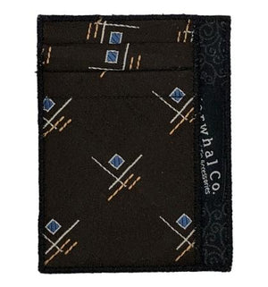 Moon God - Tie Slim Wallet :: Narwhal Company