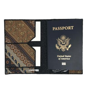 Mycenae - Tie-Passport Wallet :: Narwhal Company