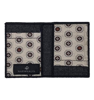 Ontario Splash - Tie Fold Wallet :: Narwhal Company