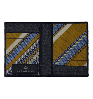 Pennsylvania Trade - Tie Fold Wallet :: Narwhal Company