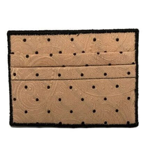 Polka - Tie Rack Wallet :: Narwhal Company
