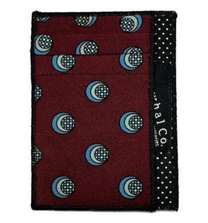 Shaker - Tie Slim Wallet :: Narwhal Company