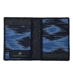 Sky - Tie Fold Wallet :: Narwhal Company