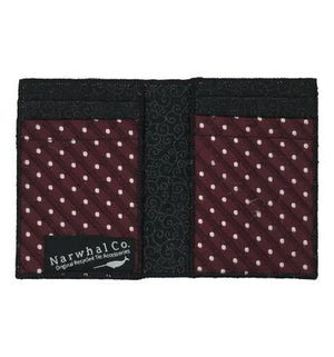 Strawberry Jam - Tie Fold Wallet :: Narwhal Company