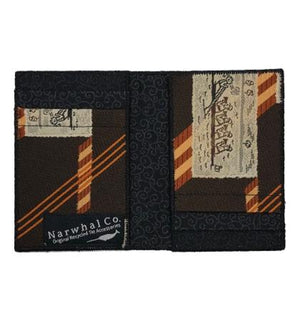 Stroke - Tie Fold Wallet :: Narwhal Company