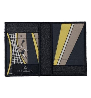 Tennis - Tie Fold Wallet :: Narwhal Company