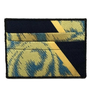 Tidal Sunrise - Tie Rack Wallet :: Narwhal Company
