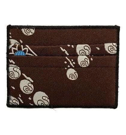 Turtle March - Tie Rack Wallet :: Narwhal Company