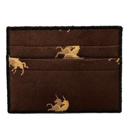 Unicorn March - Tie Rack Wallet :: Narwhal Company