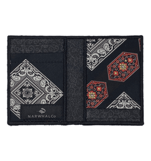 Victorian Velvet - Tie Fold Wallet :: Narwhal Company