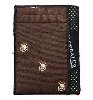 Woodland Crest - Tie Slim Wallet :: Narwhal Company