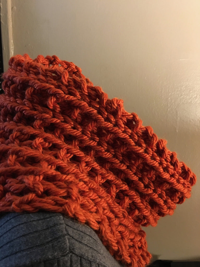 Chunky Cowl | Ribbed Cowl