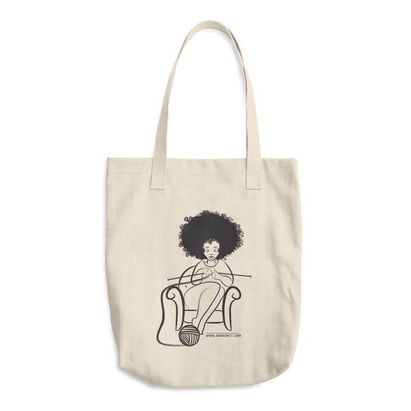 GGmadeit Cotton Tote Bag