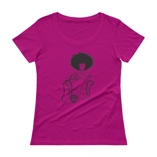 Ggmadeit Ladies' Scoopneck T-Shirt