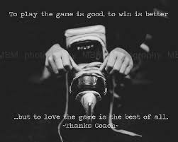 Love of the game!