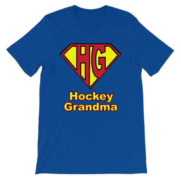 Hockey Grandma Emblem - Third Period Apparel