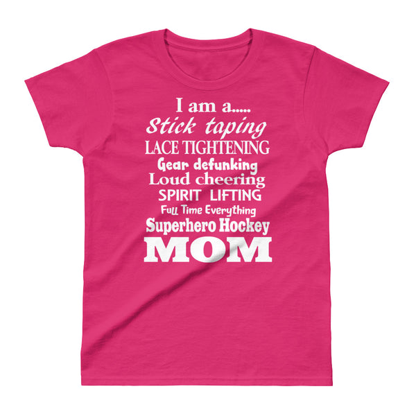 Super Hero Hockey Mom - Third Period Apparel