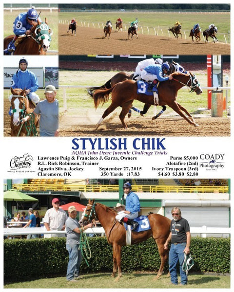 STYLISH CHIK - 092715 - Race 08 - WRD