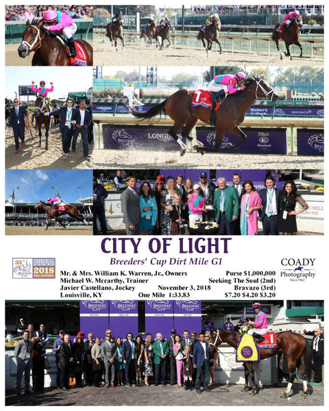 CITY OF LIGHT - 110318 - Race 05 - CD