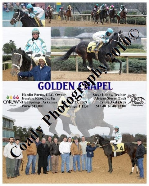 GOLDEN CHAPEL  -    -  1 25 2009