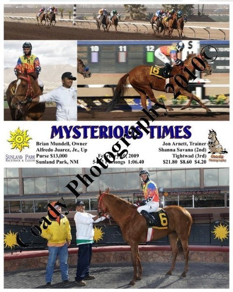 Mysterious Times  -    -  2 10 2009
