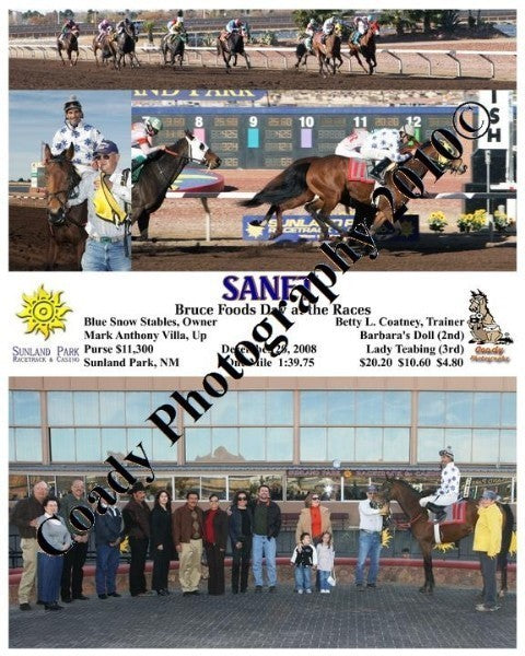Sanet  -  Bruce Foods Day at the Races  -  12 20 2