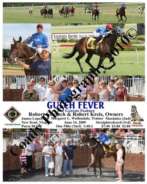 GULCH FEVER  -  The Greens Feature  -  6 14 2009