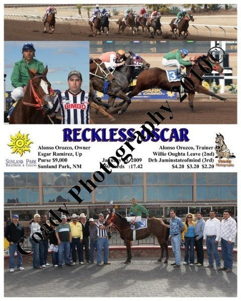 Reckless Oscar  -    -  1 23 2009