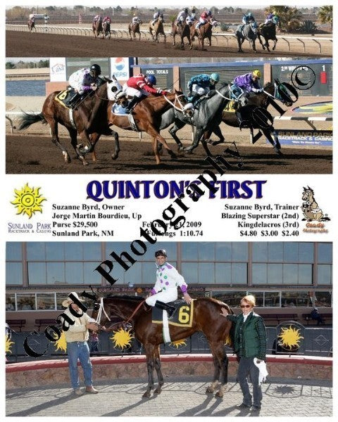 Quinton s First  -    -  2 21 2009