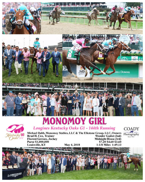 MONOMOY GIRL - 050418 - Race 11 - CD Longines Kentucky Oaks