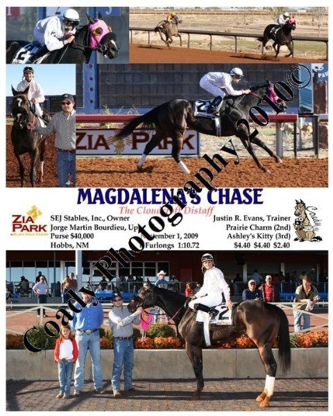 MAGDALENA S CHASE  -  The Cloudcroft Distaff  -  1