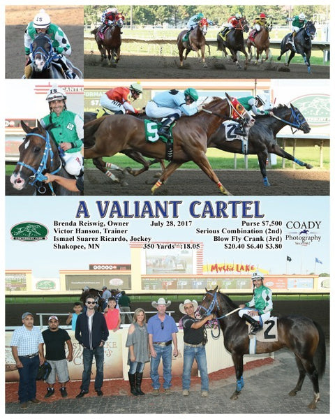 A VALIANT CARTEL - 072817 - Race 02 - CBY