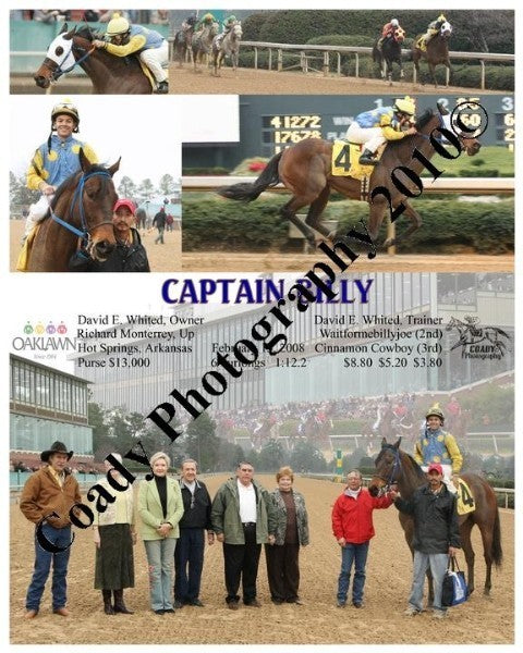 CAPTAIN BILLY  -    -  2 15 2008