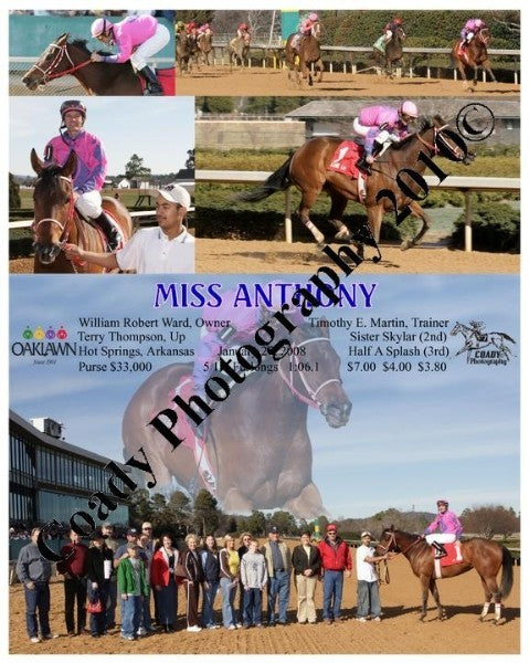 MISS ANtHONY  -    -  1 27 2008