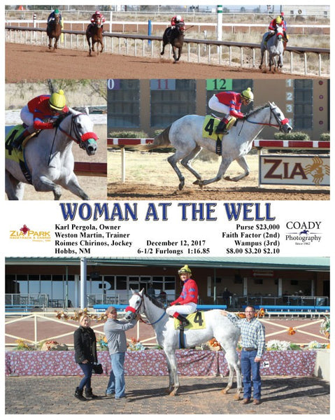 WOMAN AT THE WELL - 121217 - Race 03 - ZIA