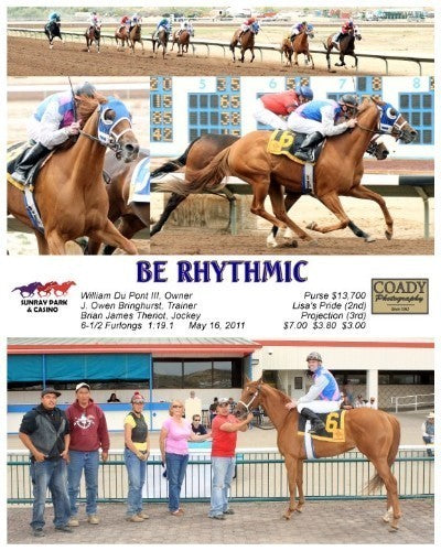 Be Rhythmic - 051611 - Race 06