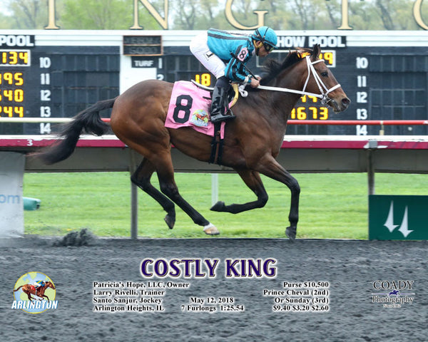COSTLY KING - 051218 - Race 04 - AP - A