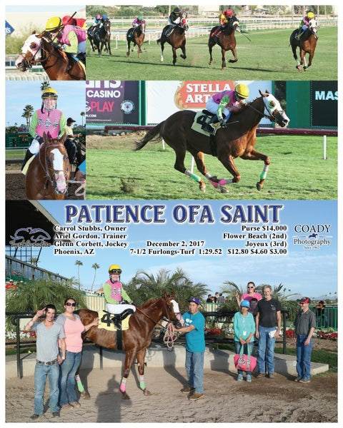 PATIENCE OFA SAINT - 120217 - Race 07 - TUP