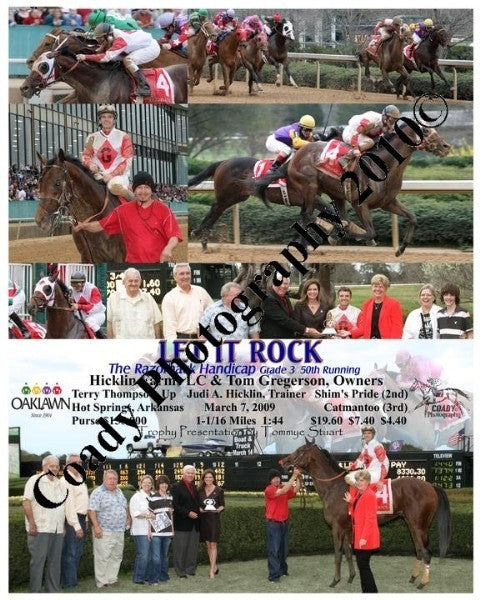 LET IT ROCK  -  The Razorback Handicap  50th Runni