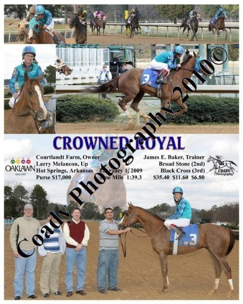 CROWNED ROYAL  -    -  2 1 2009